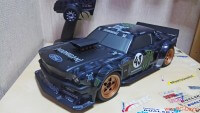 HPI Racing RS 4 Sport 3 Ford Mustang Hoonicorn 1965