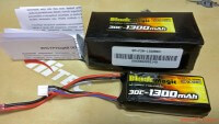 Black Magic Li-Po 7.4V 1300mah 30C