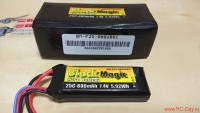 Black Magic Li-Po 7.4V 800mah 25C