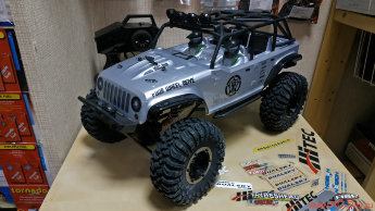 Remo Hobby Open-Topped Jeeps