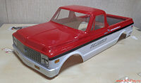 Кузов Proline Racing USA Chevrolet Chevy C-10 1972 - красно-белый